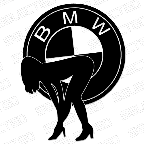 Bmw Girl Odjazdowe Naklejki I Wlepki Tuningowe Na Samochod