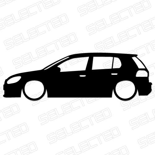 Low Golf Mk6 Odjazdowe Naklejki I Wlepki Tuningowe Na Samochod