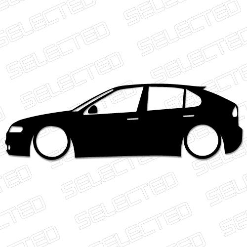 Low Seat Leon Mk1 Odjazdowe Naklejki I Wlepki Tuningowe Na Samochod